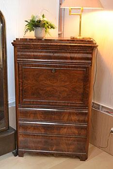 Biedermeier Sekretär Mahagoni Antiquitäten Und Möbelbau