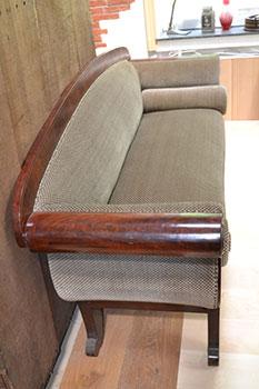 Biedermeier Sofa - Seitenaufnahme - antike Möbel