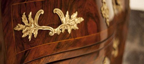 Kommode-Detail - Antiquitäten und Möbelbau