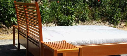 Möbelbau - maßanfertigtes Doppelbett - Jörg Wedler